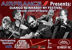 AIR FRANCE Presents DJANGO REINHARDT NY FESTIVAL '15th Anniversary'