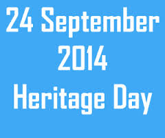 Heritage Month 24 sept