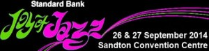 Standard Bank Joy of Jazz Festival banner