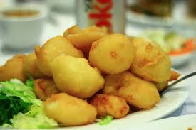 French-Fried Scallops