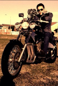 Darren English Harley sepia