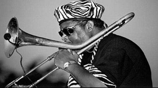 Wayne Henderson of the Jazz Crusaders in 2001. (Gloria Ellis)