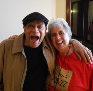 Al Jarreau talks with Carol Martin (28 March 2015)