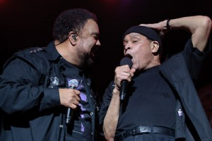 George Duke with Al Jarreau
