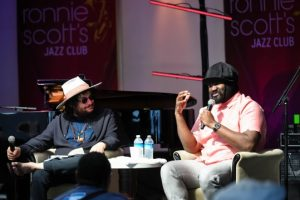 Don Was interviewing Gregory Porter